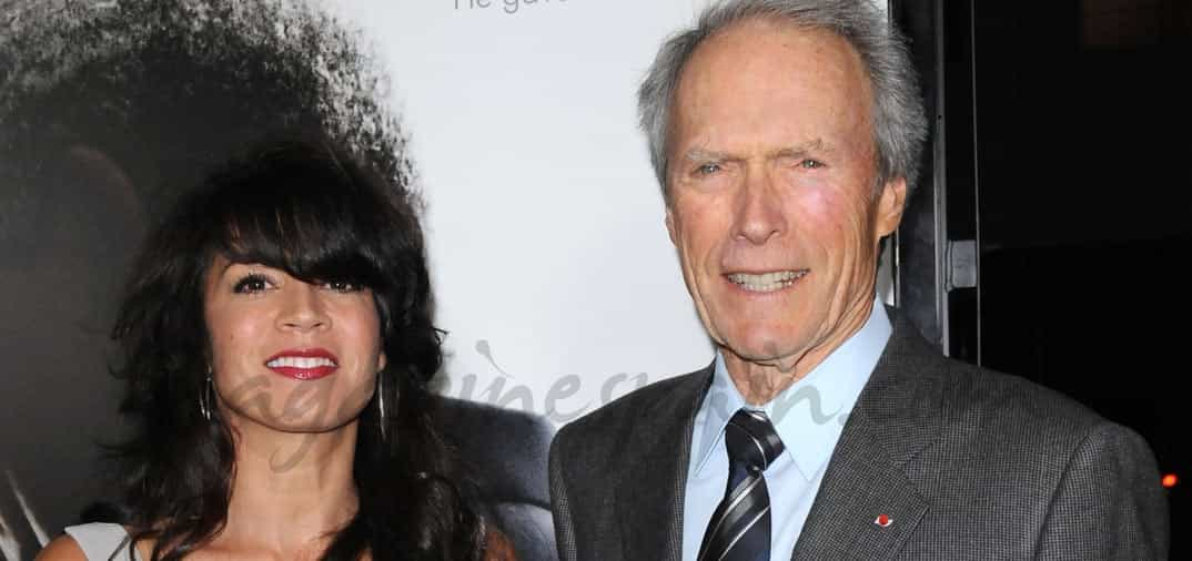Clint Eastwood y Dina Ruiz