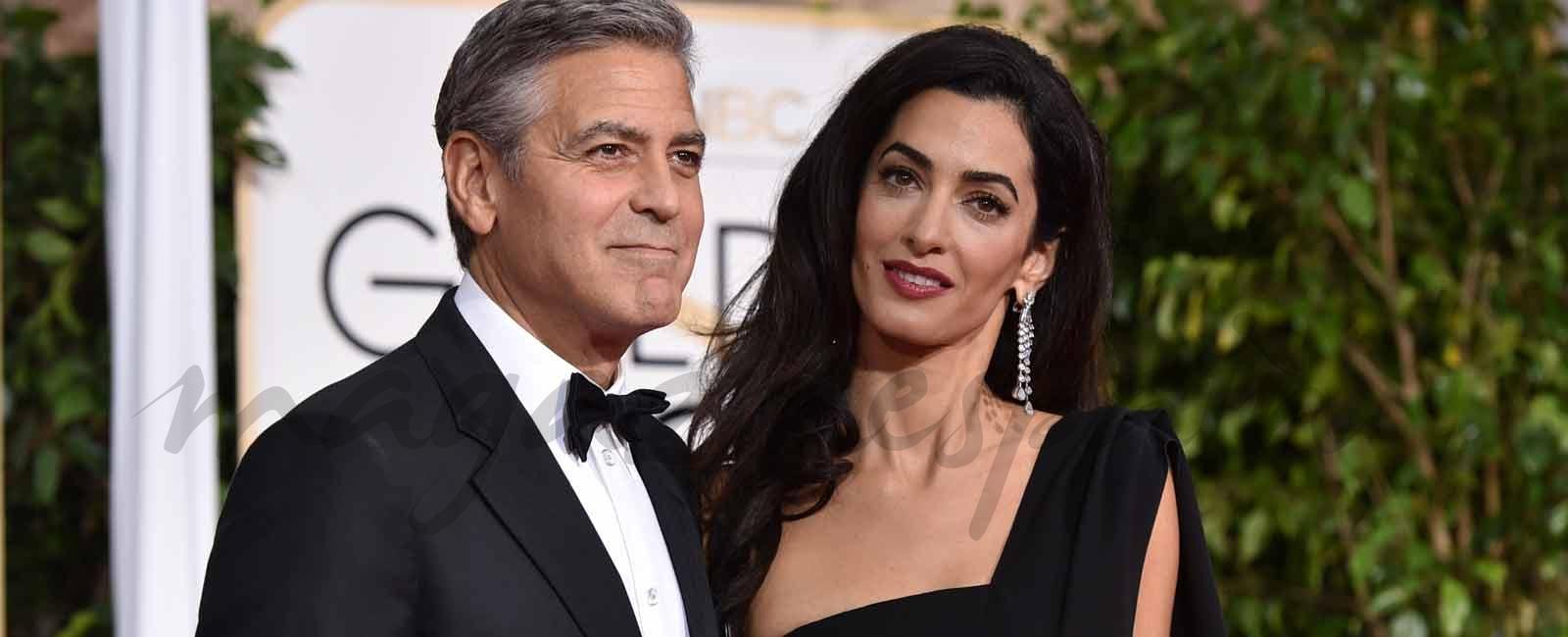George y Amal Clooney donan 100.000 dólares para ayudar a los niños inmigrantes