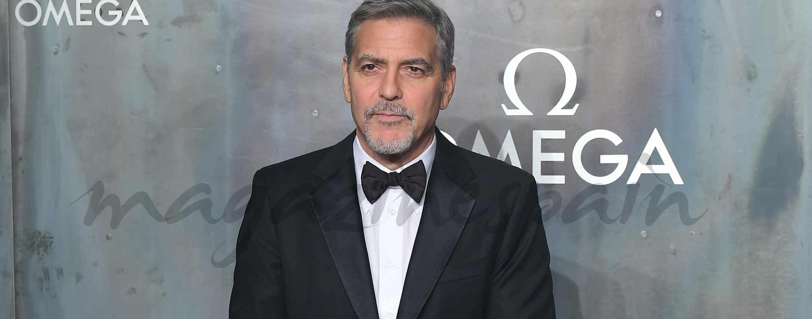 George Clooney, un elegante futuro papá