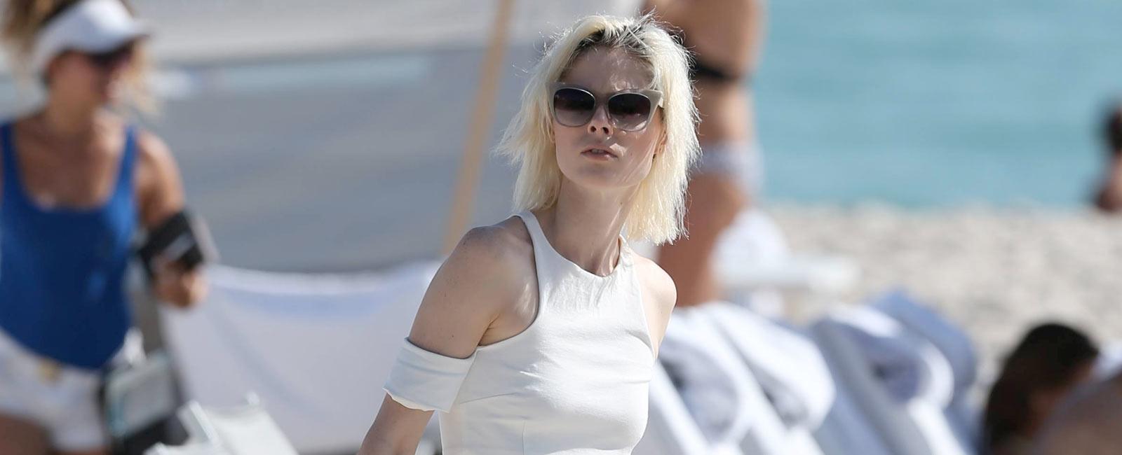 Coco Rocha vacaciones con su hija Ioni James en Miami