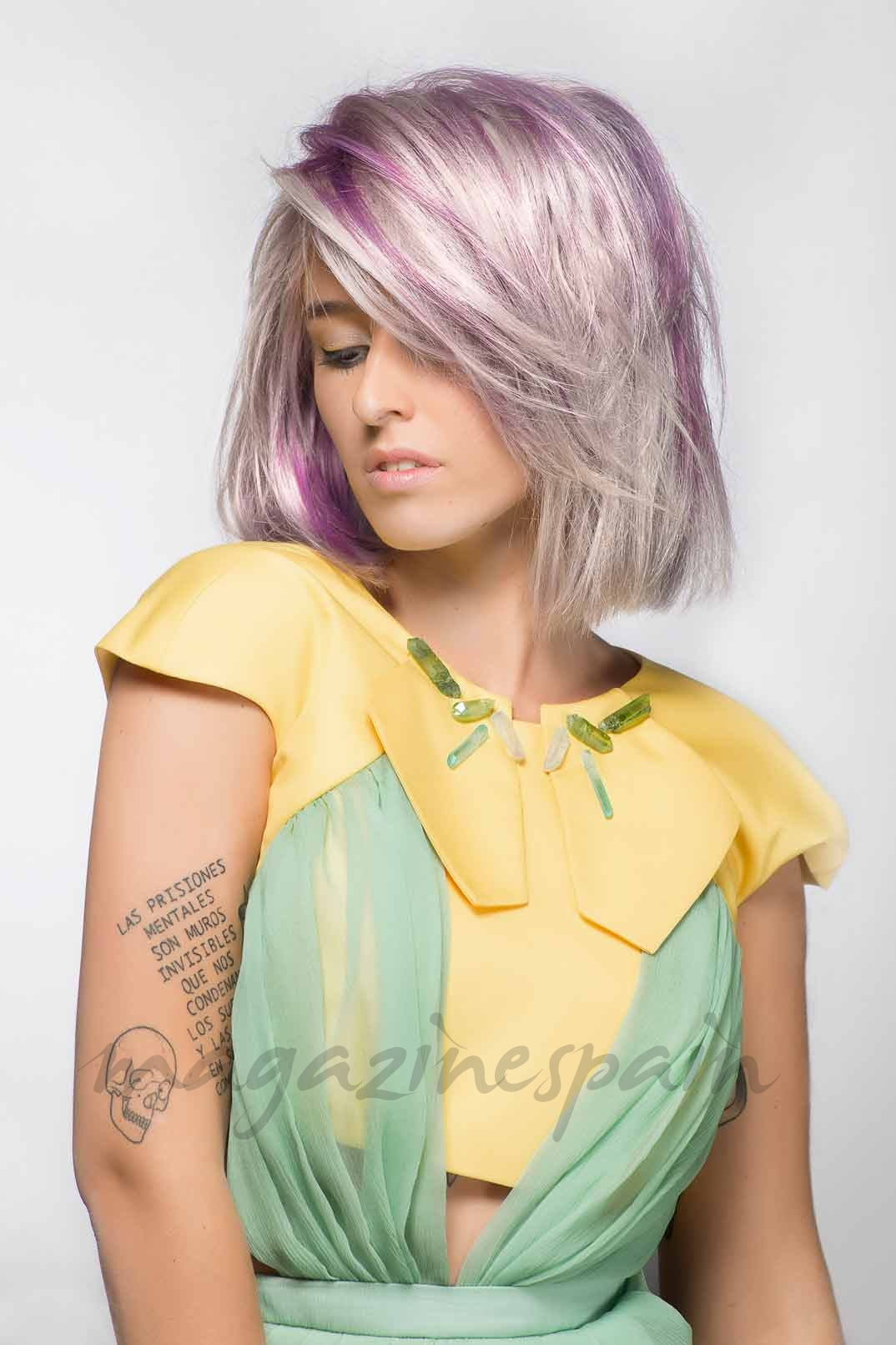 color pelo verano