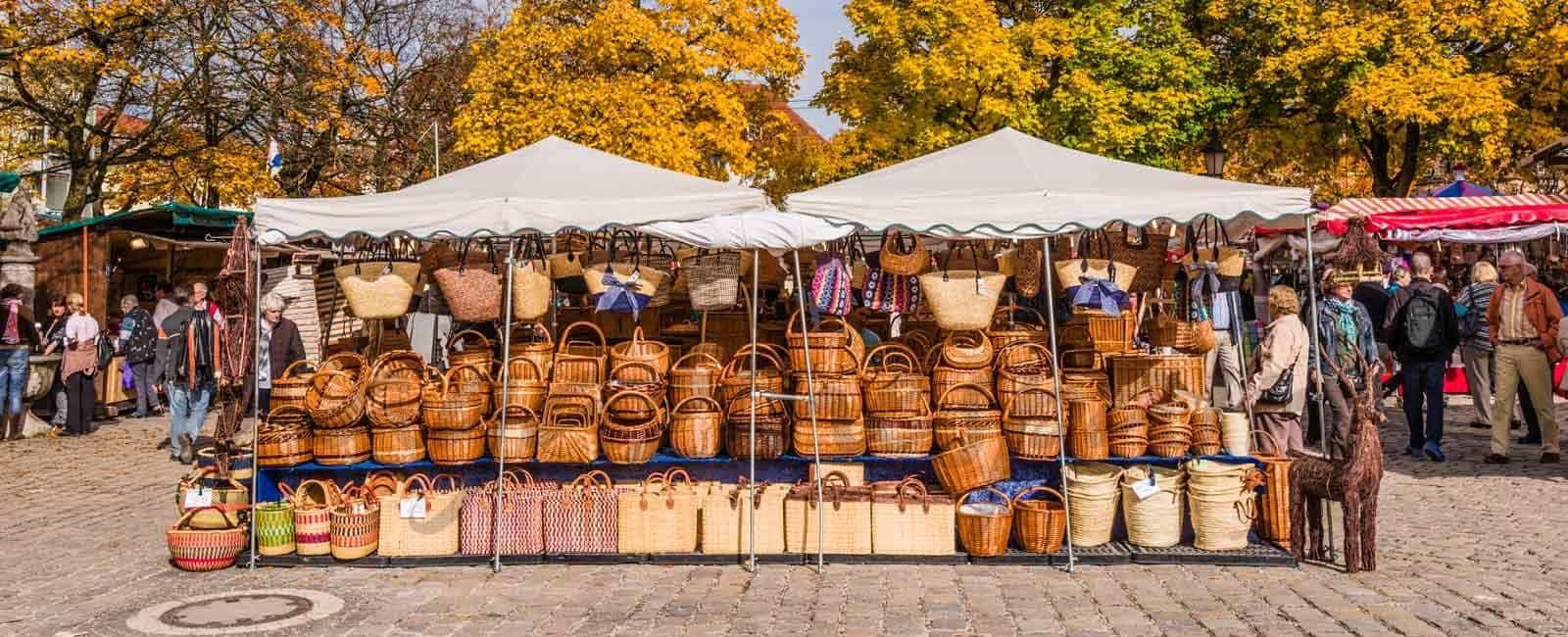 En otoño, ¿cómo hacer la cesta de la compra perfecto?