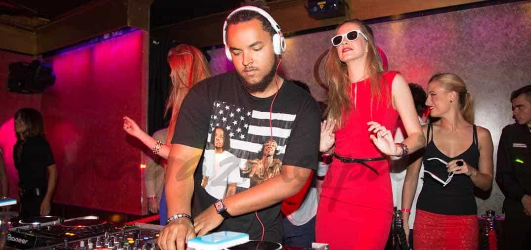 Connor Cruise, DJ en Madrid