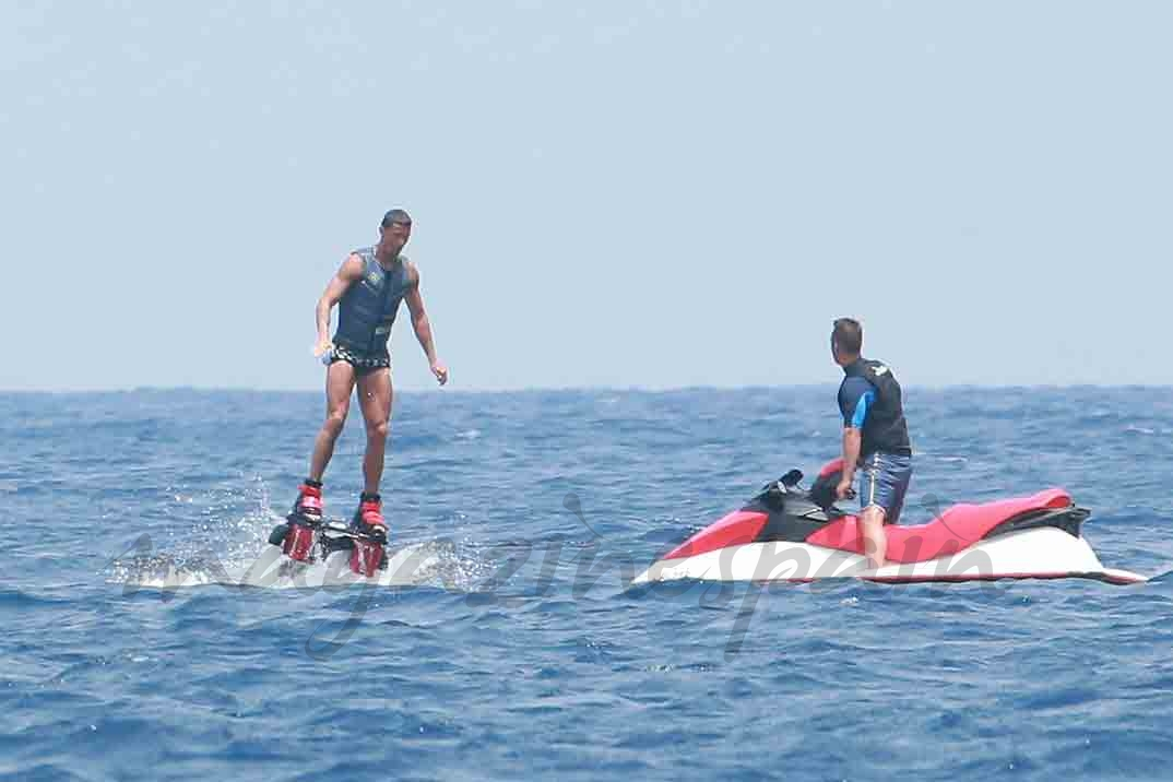 cristiano ronaldo y georgina rodriguez vacaciones en ibiza