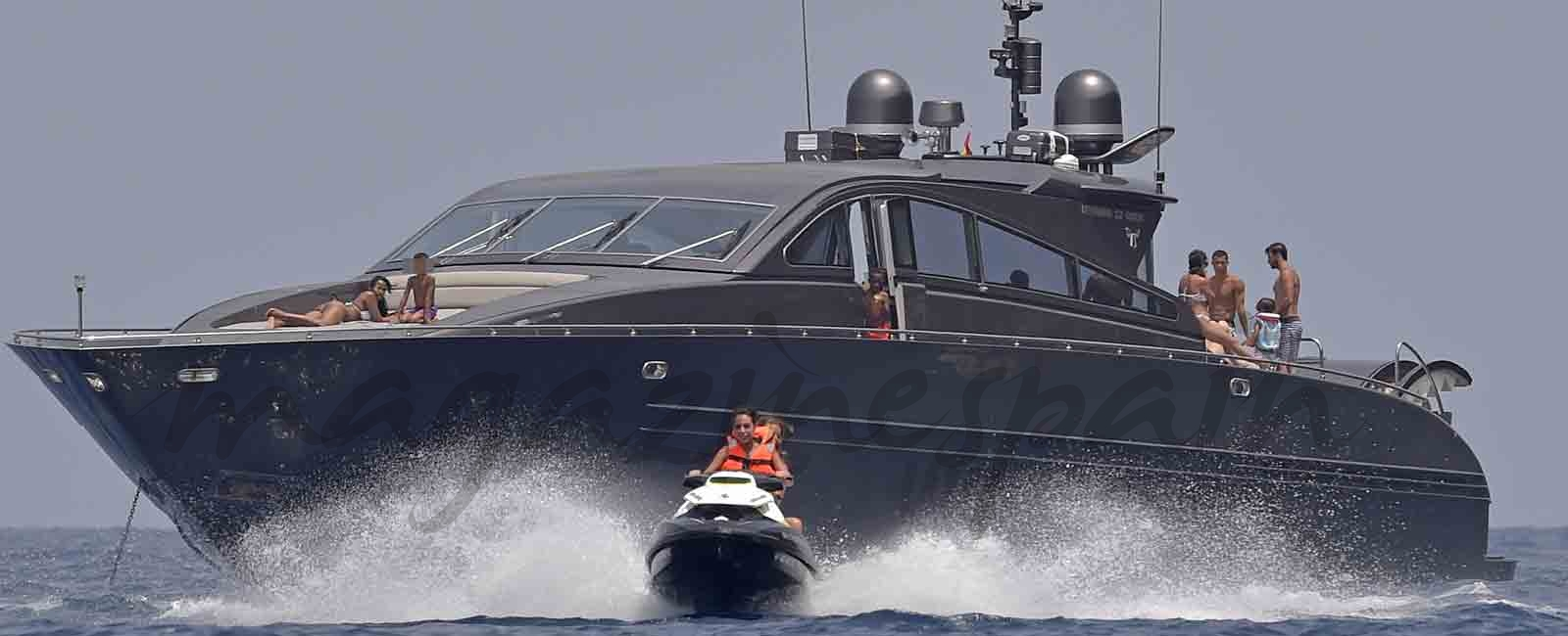 Cristiano Ronaldo y Georgina Rodríguez vacaciones en Formentera con su familia