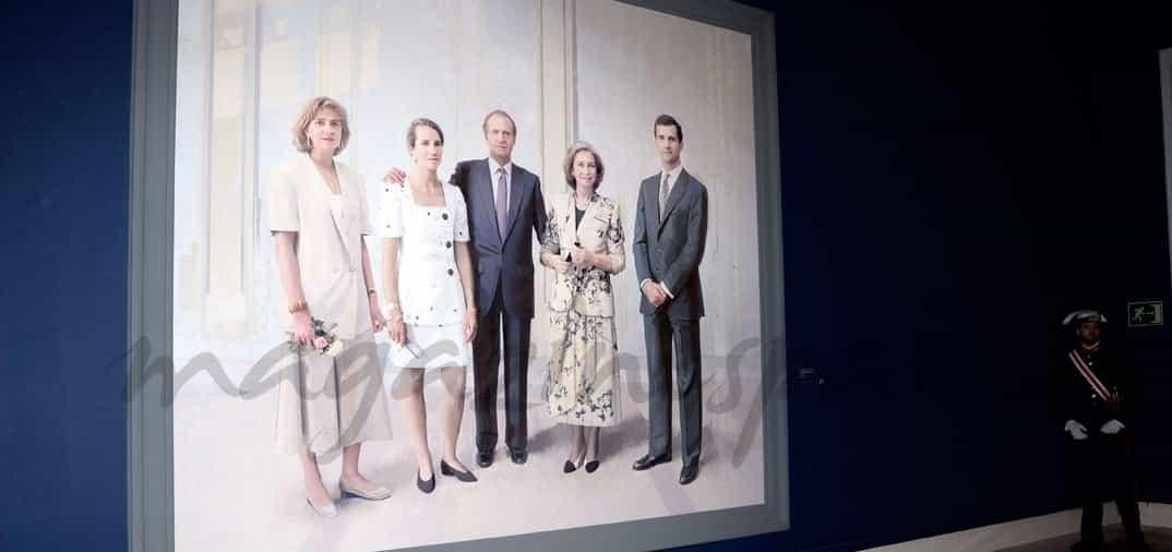 20 años después, el cuadro de la Familia Real