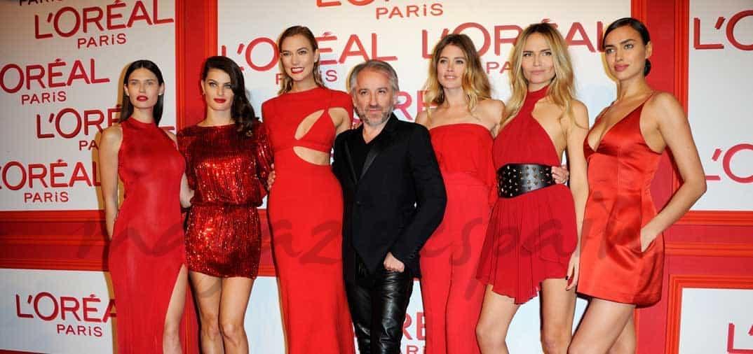 L'Oreal París las viste de rojo