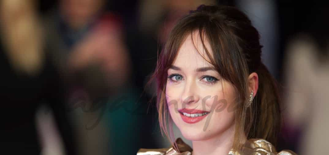 Dakota Johnson, brillante estreno en Londres