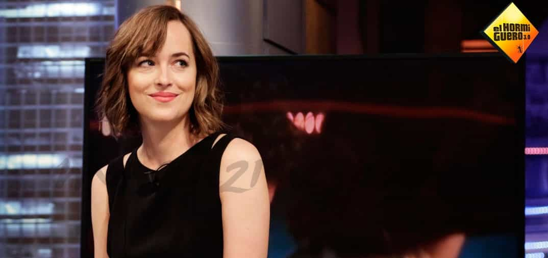 Dakota Johnson en «El Hormiguero»