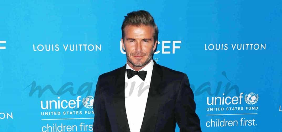 David Beckham reune a sus amigos, en su homenaje de UNICEF