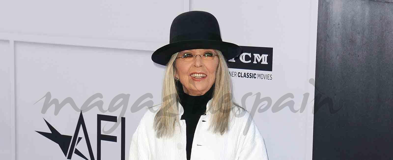 Diane Keaton recibe el homenaje de sus amigos en una noche inolvidable