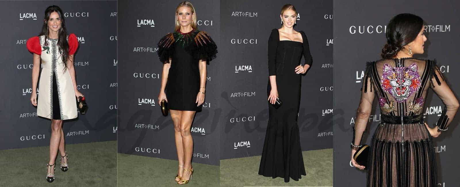 Gucci conquista en la Gala LACMA Art+Film