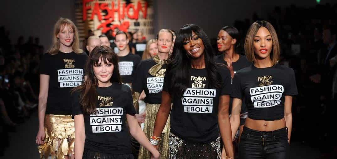 """Famosas solidarias desfilan en la """"Fashion for Relief"""" contra el Ébola"""