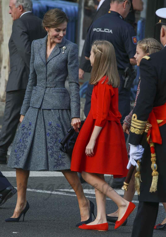 Reina Letizia y Princesa Leonor