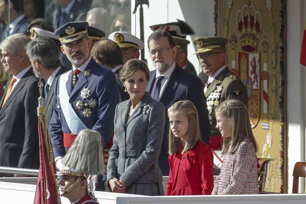 La Familia Real el Día de la Fiesta Nacional