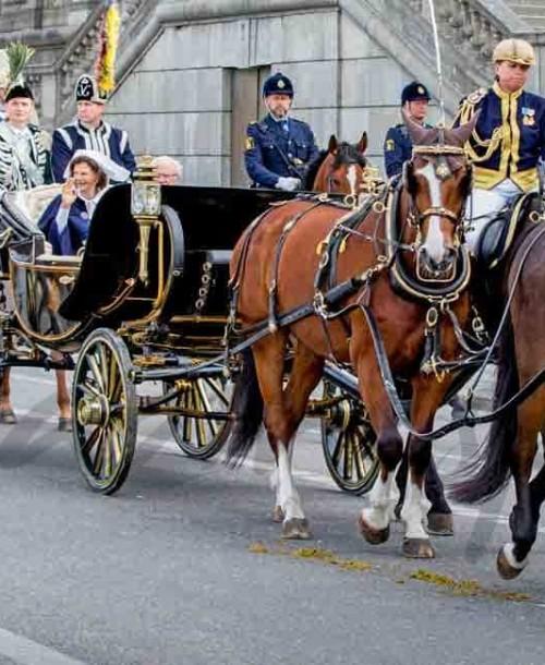 La familia real celebra el Día Nacional de Suecia