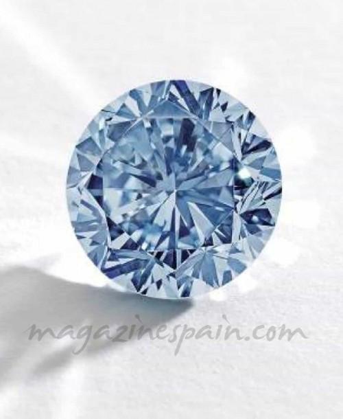 Un raro diamante azul de 14.000.000 de €