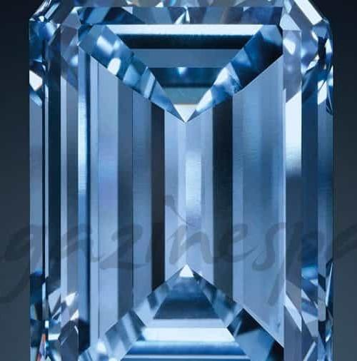 """""""Oppenheimer Blue"""", el diamante más grande del mundo, sale a subasta"""