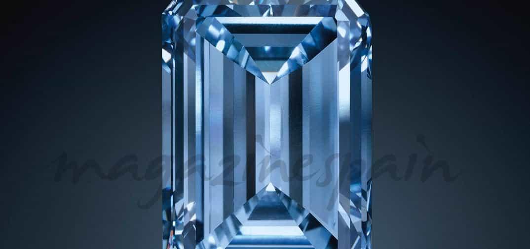 «Oppenheimer Blue», el diamante más grande del mundo, sale a subasta