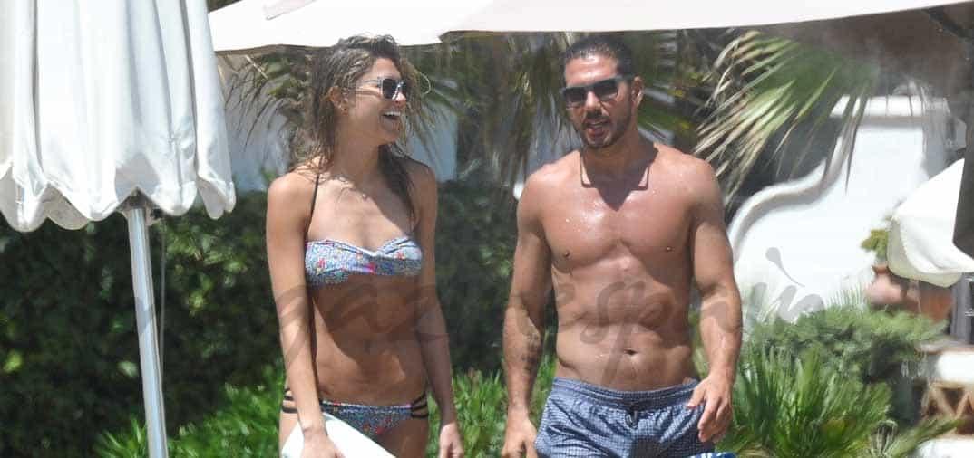 Diego Simeone y Carla Pereyra, segundas vacaciones en Marbella