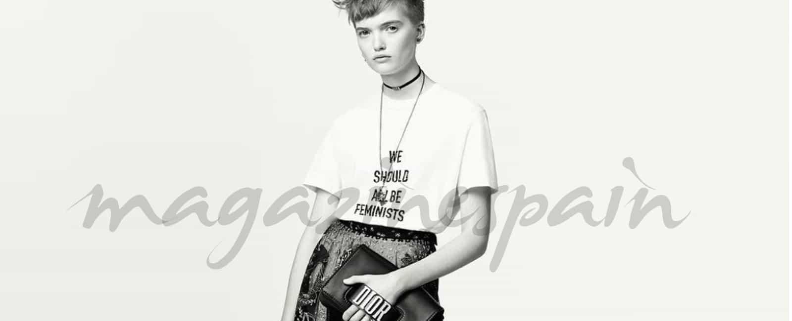 Así es la camiseta feminista de Dior que se ha hecho viral