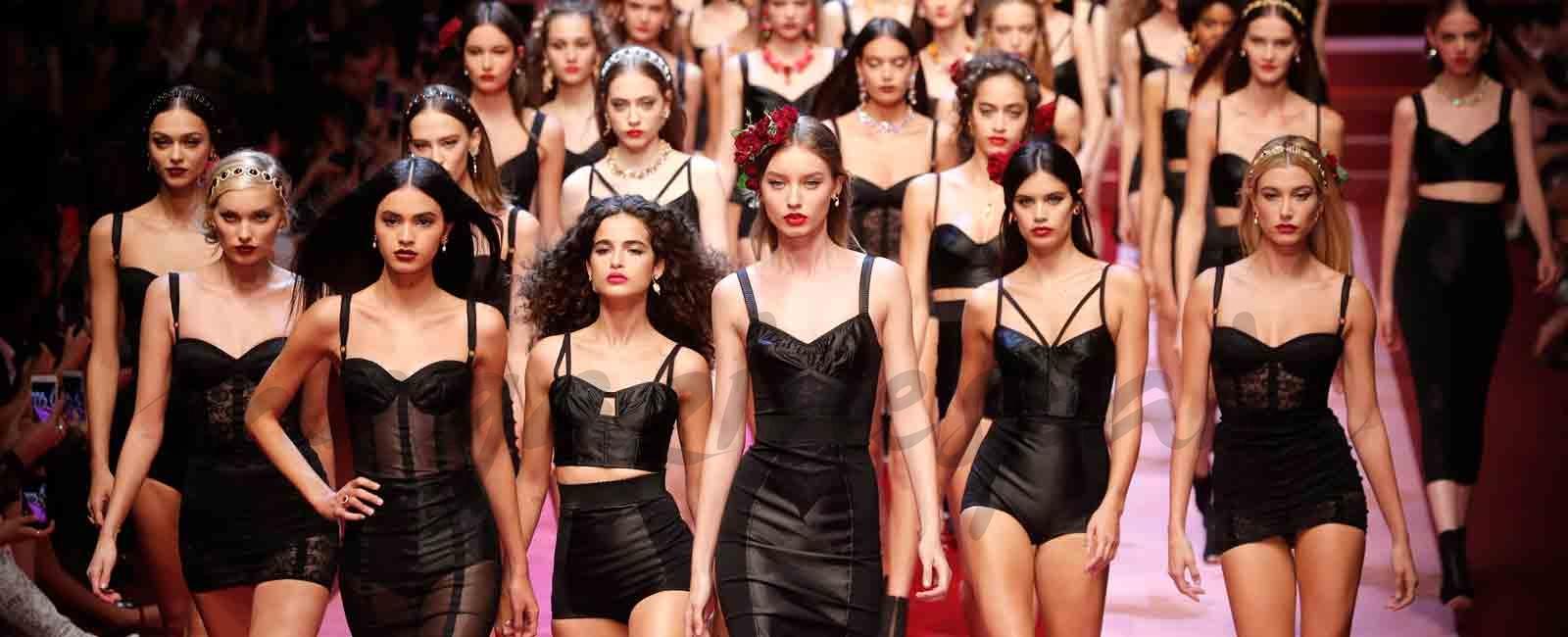 Milán Fashion Week: Doce & Gabbana Primavera Verano 2018