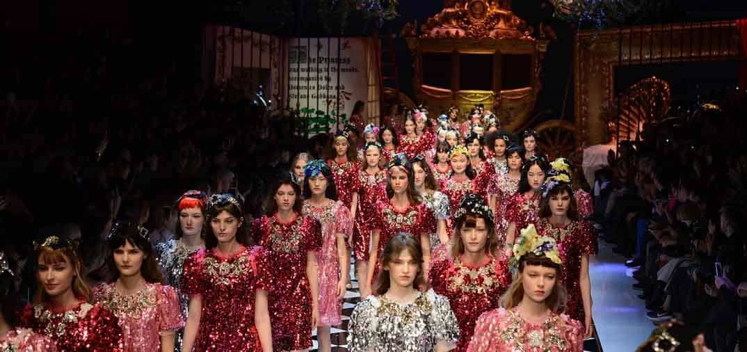 milan fashion week 2016: dolce & gabbana