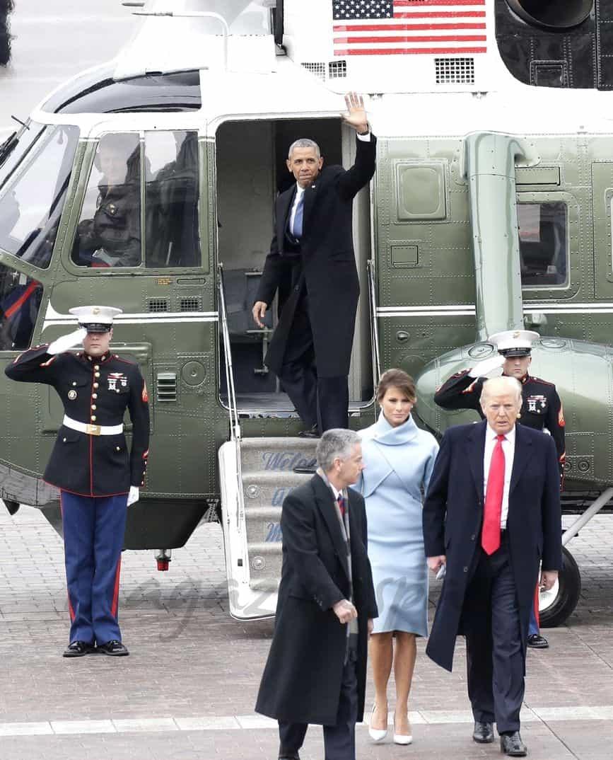 Melania Trump, Donald Trump, Barack Obama