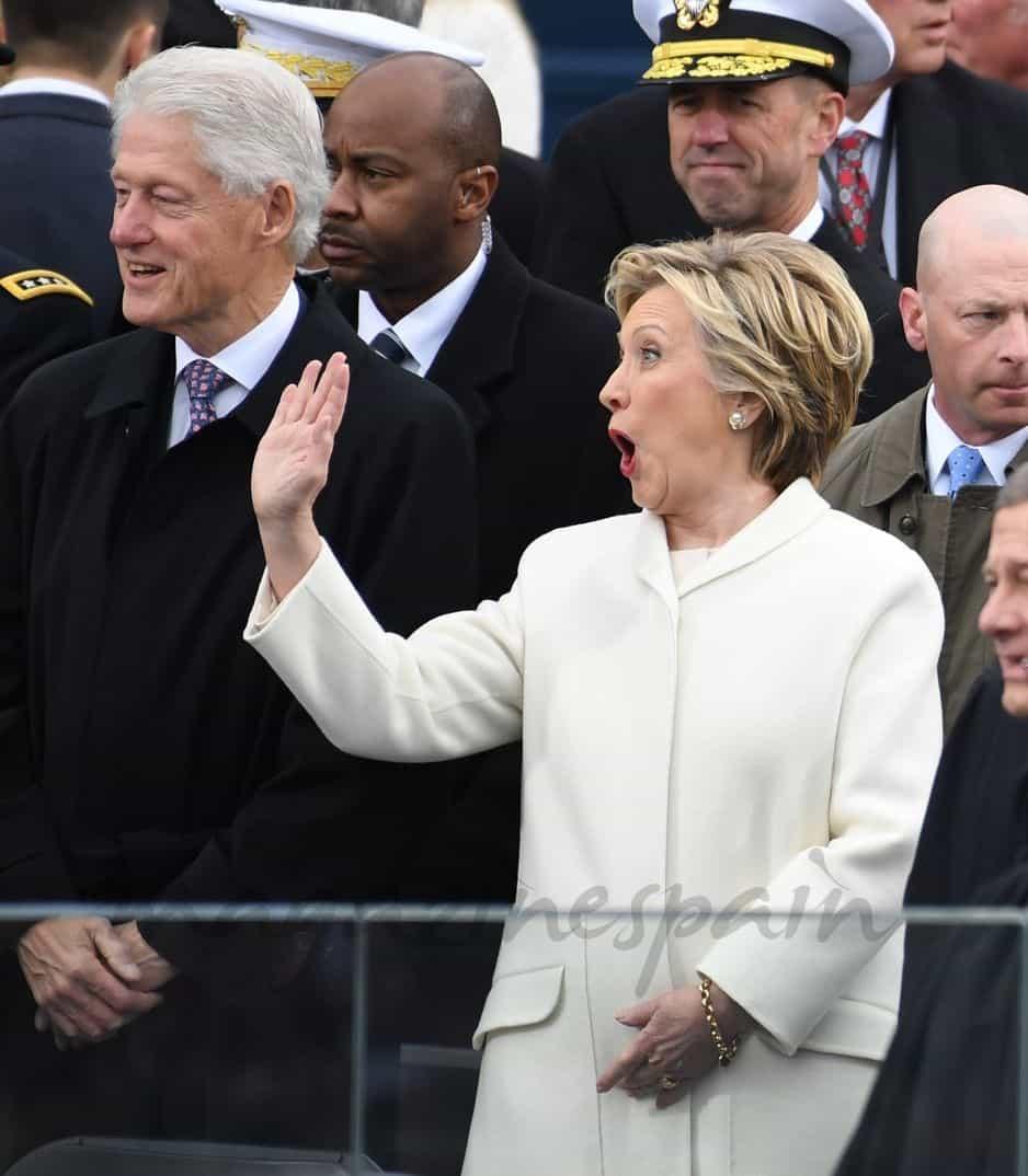 Bill Clinton y Hilary Clinton