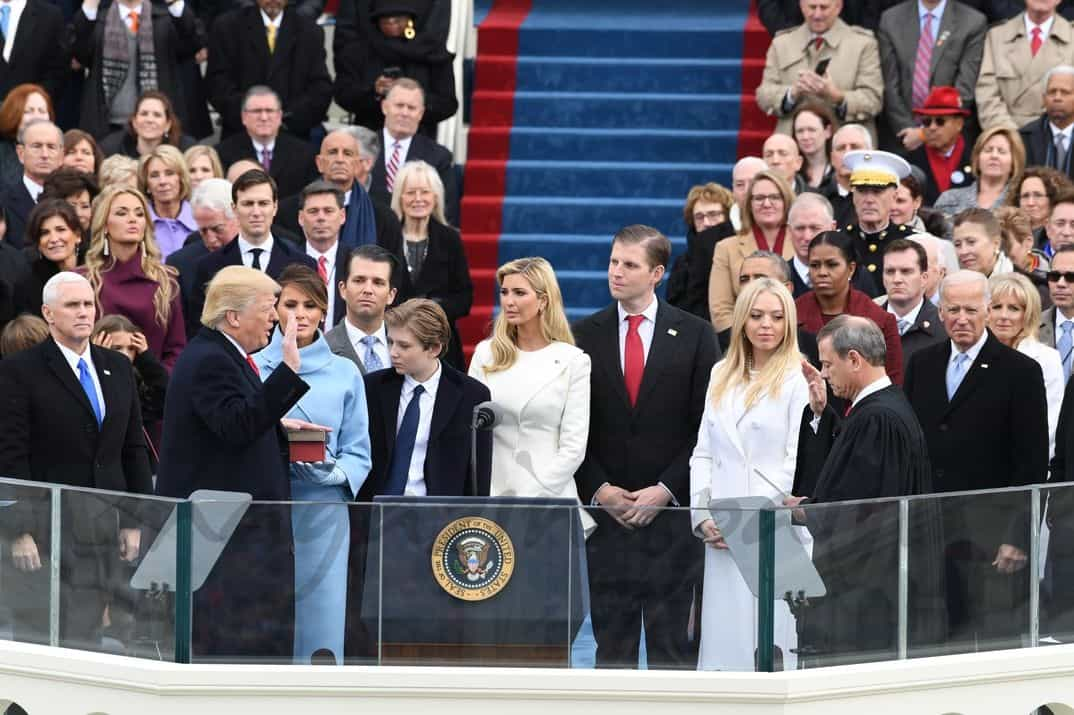 Donald Trump y su familia