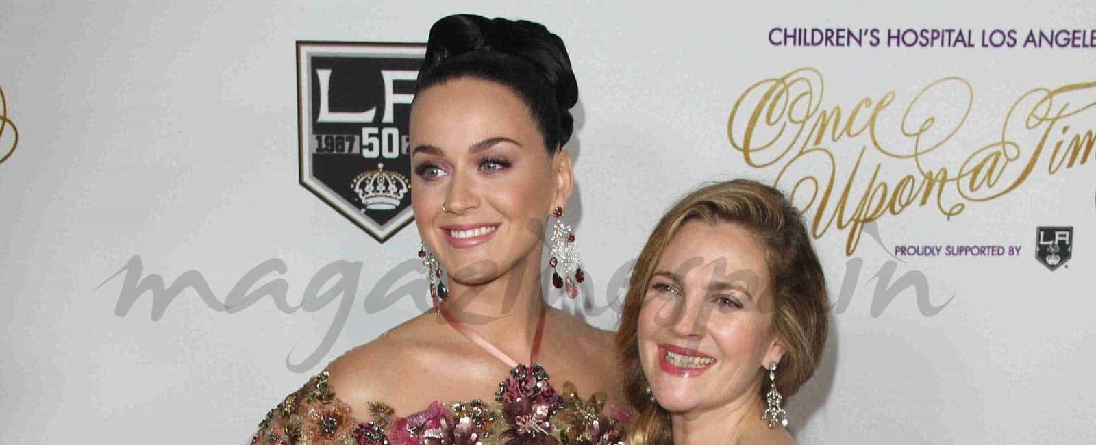 Drew Barrymore y Katy Perry, en la gala «Érase una vez»