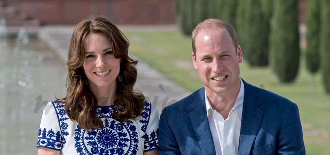 El príncipe Guillermo y Kate, en el Taj Mahal