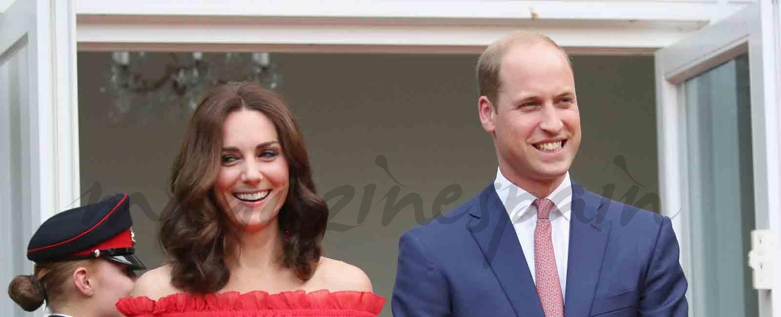 El look off-shoulder de Kate Middleton