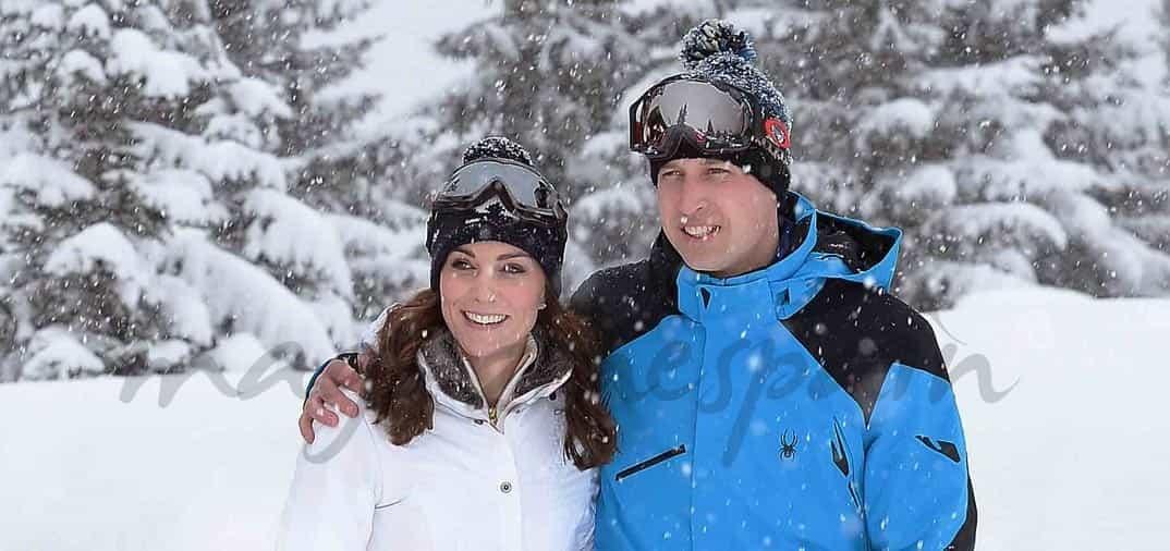 Vacaciones en la nieve de los Duques de Cambridge y sus hijos