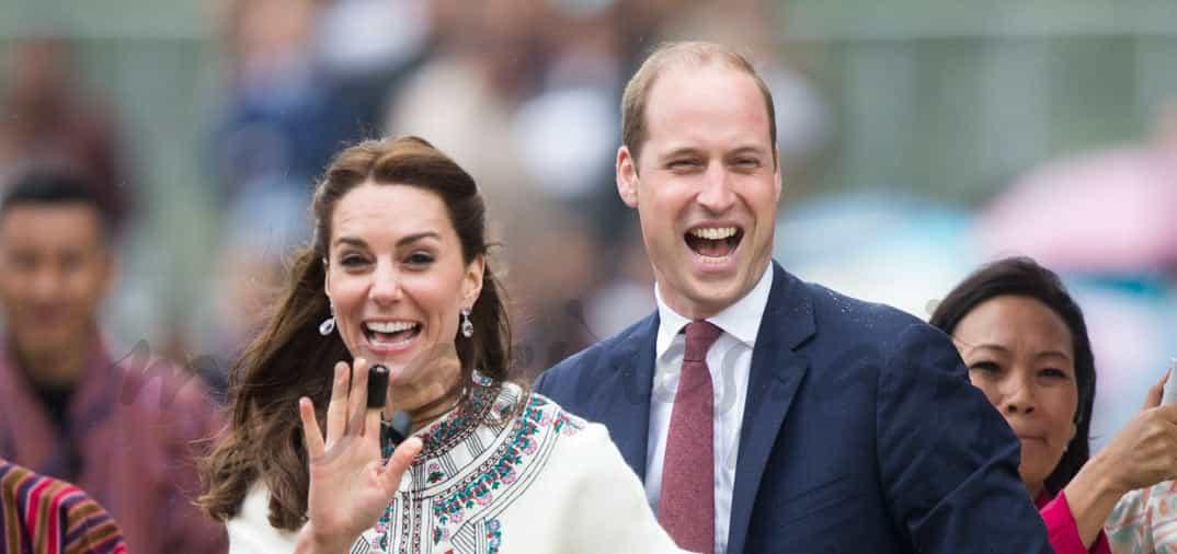 Duques de Cambridge, cariñoso encuentro con los Reyes de Bután