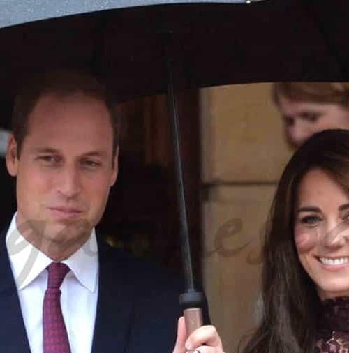 Los Duques de Cambridge, anfitriones del Presidente Chino