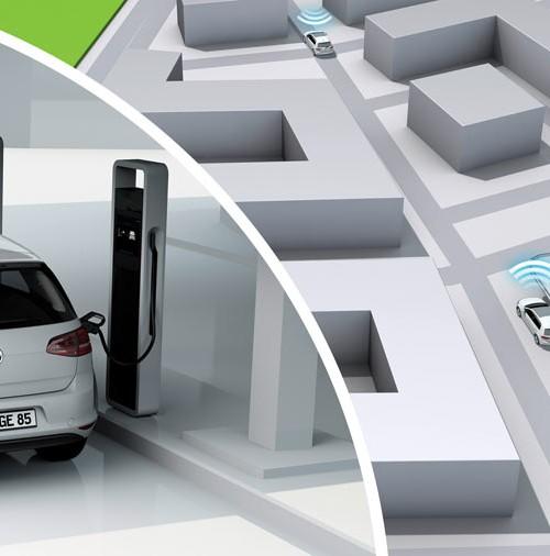 "Volkswagen presenta el,  ""e-Golf Intelligent Charge"""