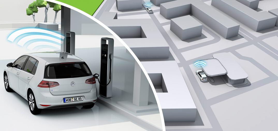 Volkswagen presenta el,  «e-Golf Intelligent Charge»