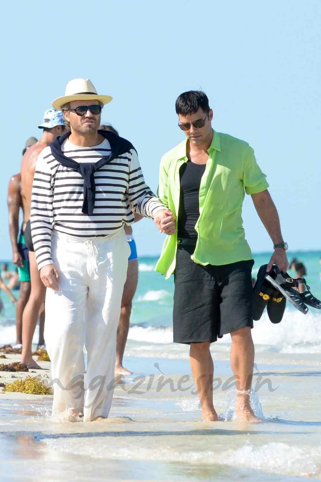 Edgar Ramírez y Ricky Martin