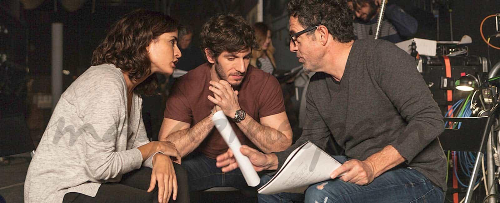 Comienza el rodaje de «El accidente», la nueva serie protagonizada por Inma Cuesta y Quim Gutiérrez