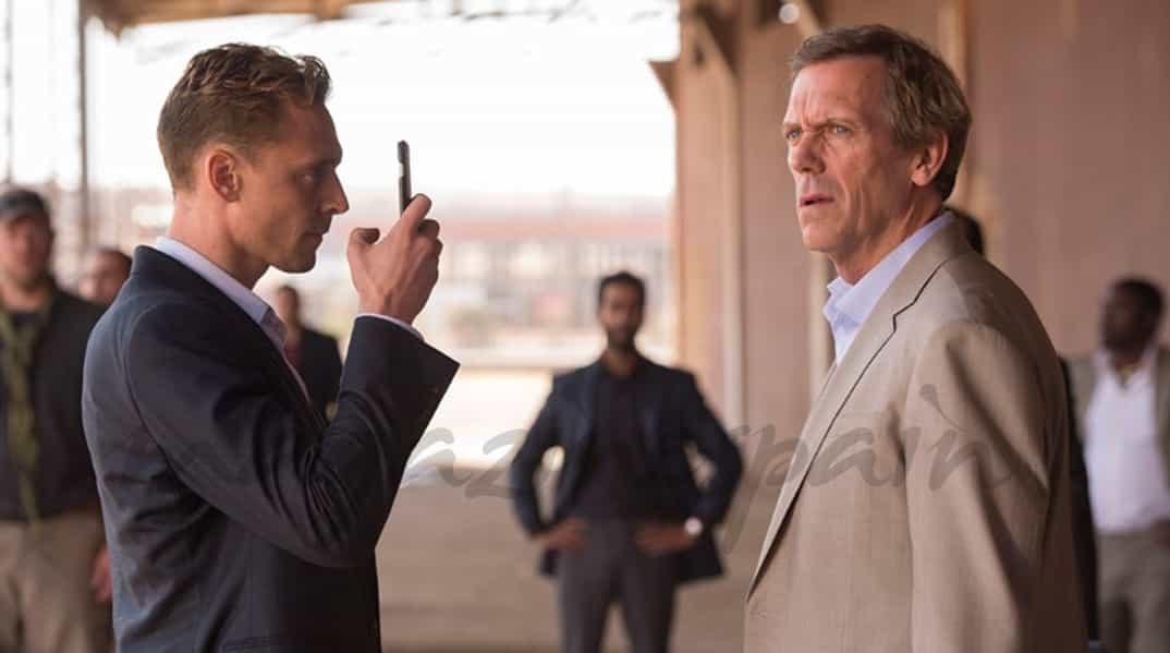 Tom Hiddleston y Hugh Laurie