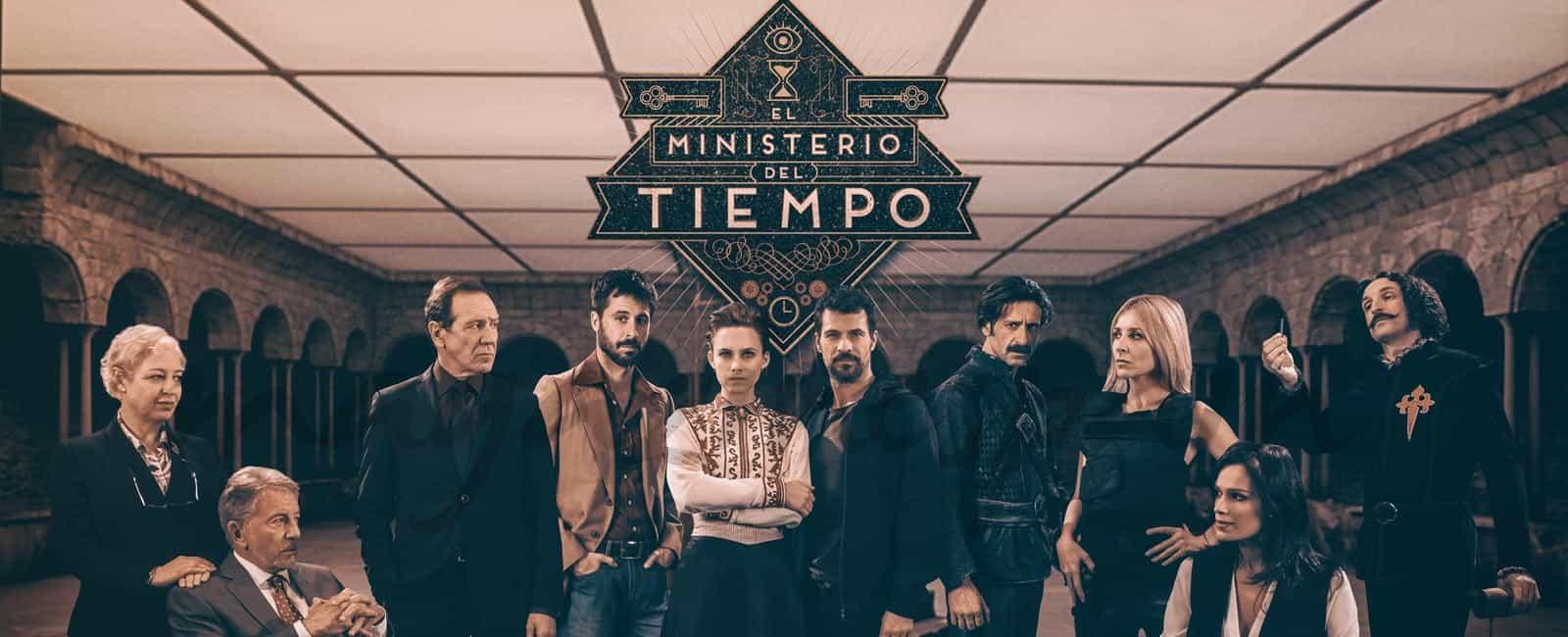 «El Ministerio del Tiempo», renueva su tercera temporada