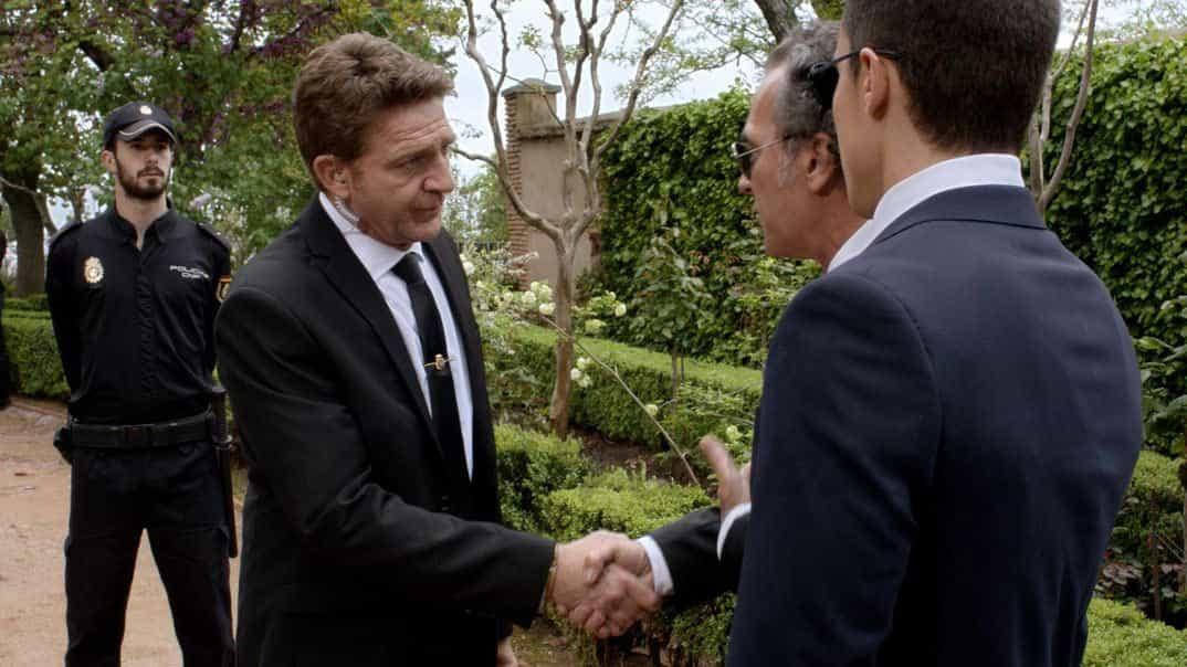 J. Artero, José Coronado y Alex González - El Príncipe - Cap. 29 © Telecinco