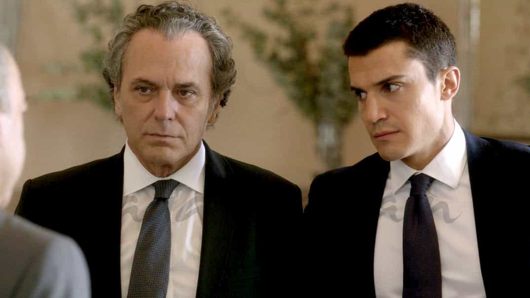 José Coronado y Alex González - El Príncipe - Cap. 29 © Telecinco