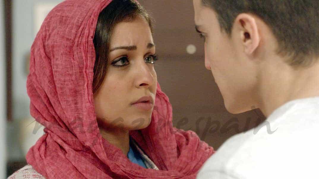 Hiba Abouk y Alex González - El Príncipe - Cap. 29 © Telecinco