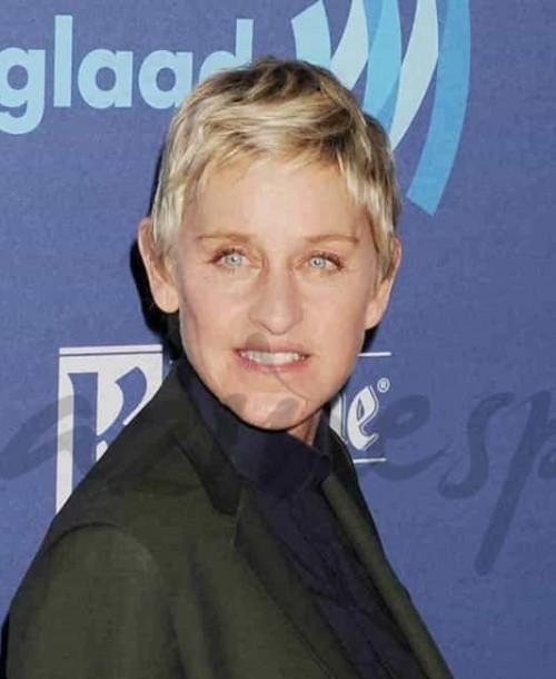 Ellen DeGeneres, la presentadora de televisión, una de las mujeres más poderosas de EE.UU.