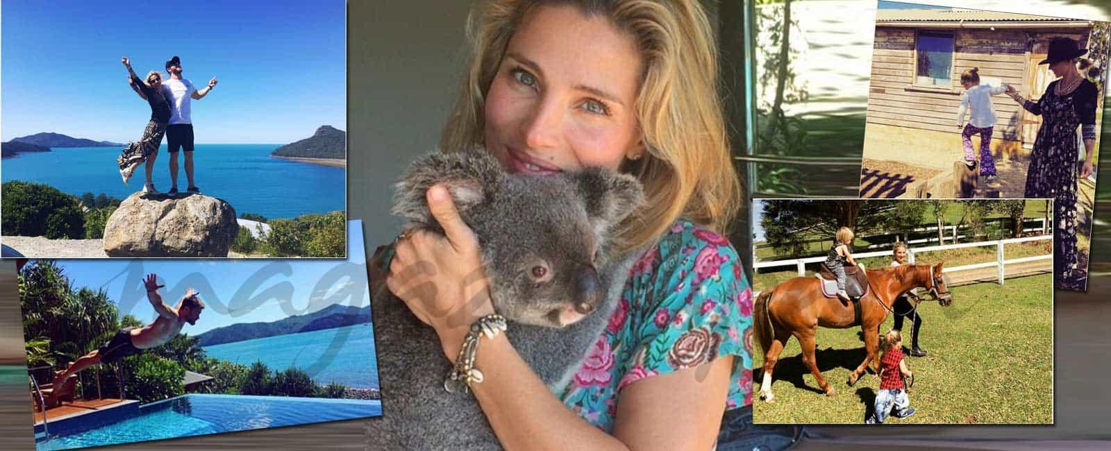 La «dolce vita» de Elsa Pataky en Australia