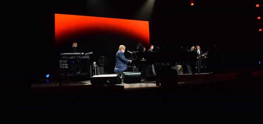 El Teatro Real, escenario del concierto de Elton John