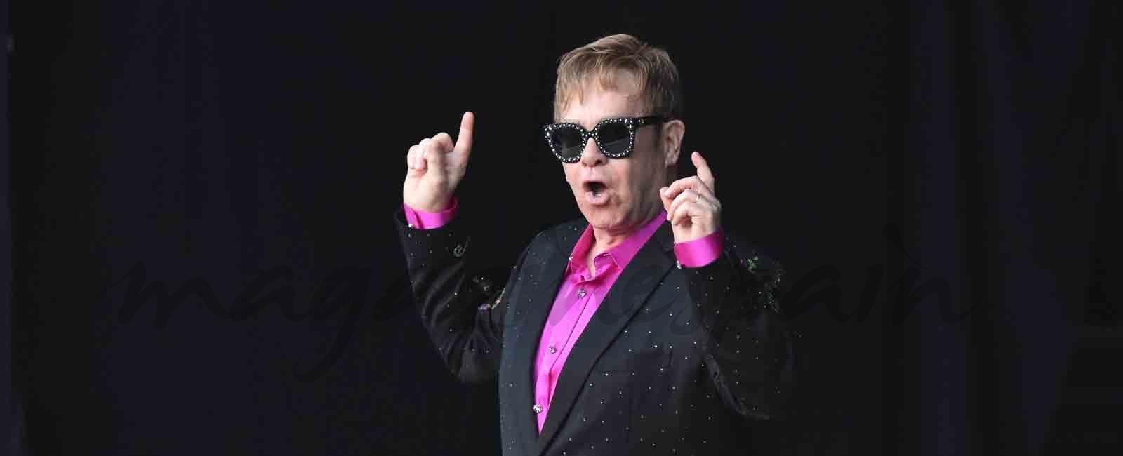 Elton John triunfa en Marbella