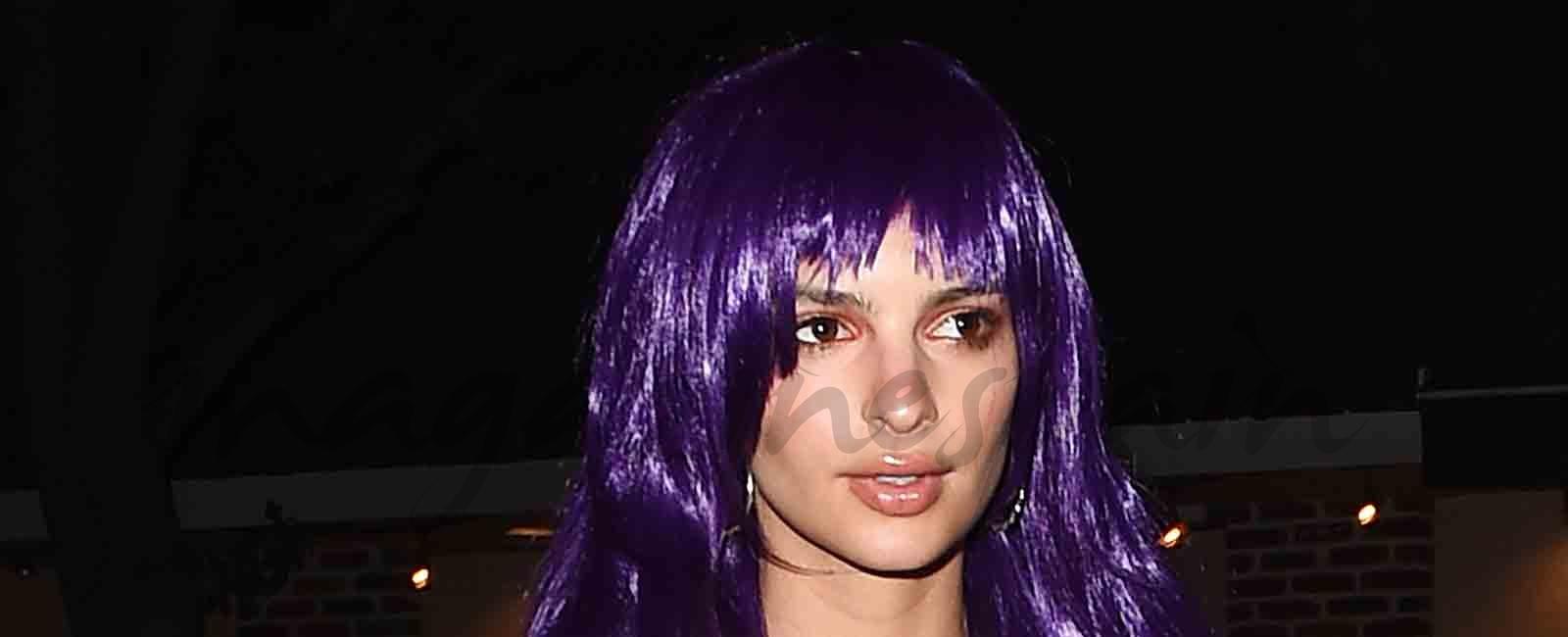 Emily Ratajkowski, el disfraz más sexy de la Noche de las Brujas